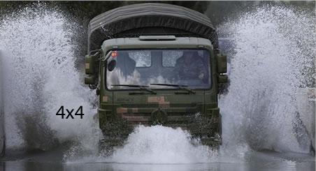 4x4 army